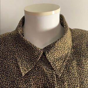 Silk Blend Animal Print Blazer from Vanderbilt